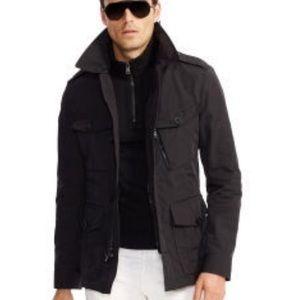 RL Black Label Water Resistant Black Field Jacket
